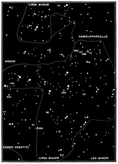 PSM_V47_D814_Wonders_of_the_night_sky_map_26